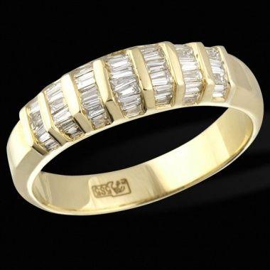 Кольцо с бриллиантами ED R KSR-03066 YG