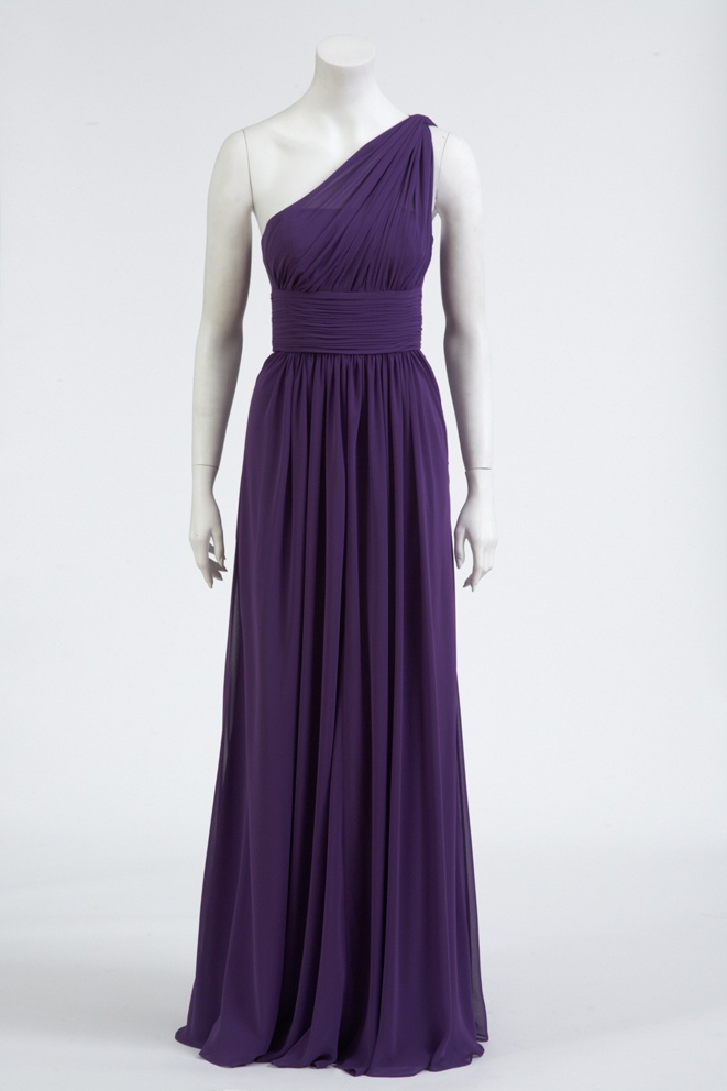 The perfect Purple bridesmaid gown