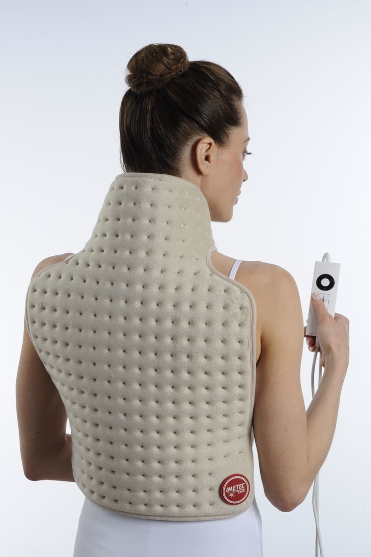 Dreamland Thermo Therapy back and neck heat pad, heat wrap, sports injury, back pain, neck pain, running, physio