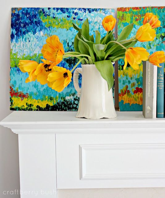 Craftberry Bush: Bright and Cheery Abstract Art