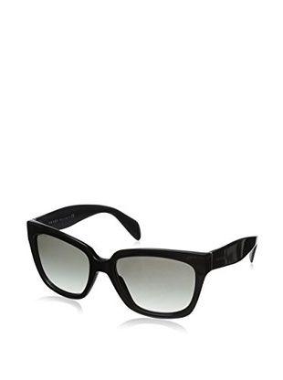 Prada Women's Poeme Sunglasses (Black)