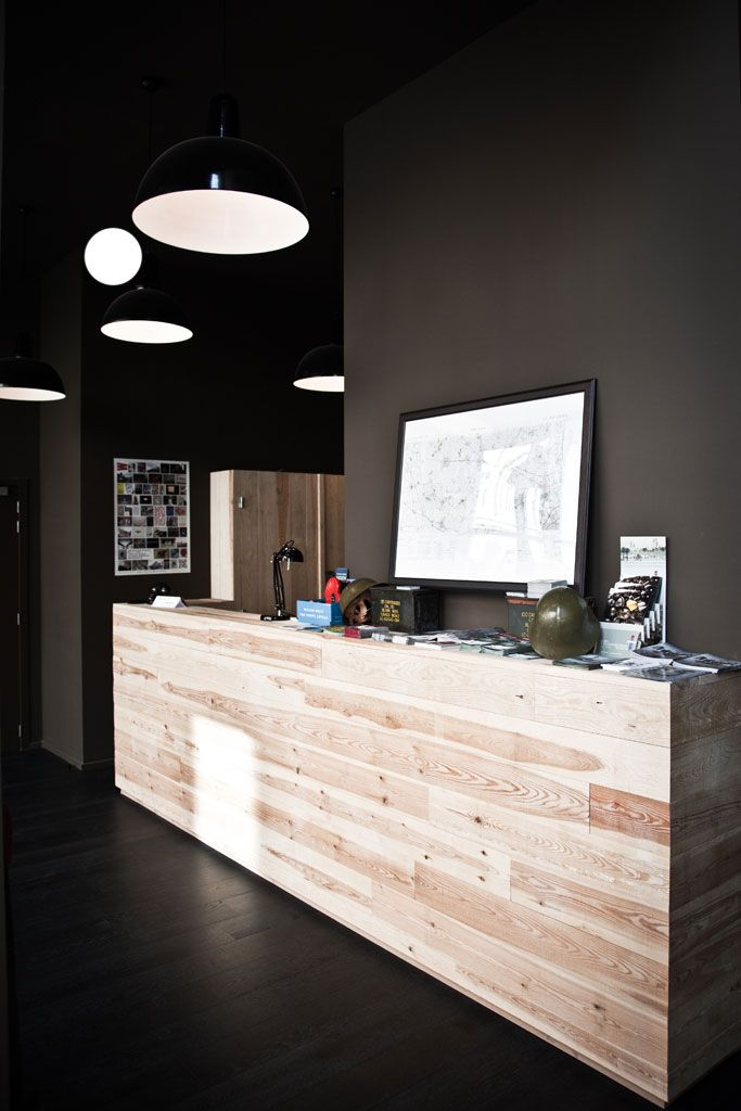 79 best open office design images on pinterest office for Hotel reception design