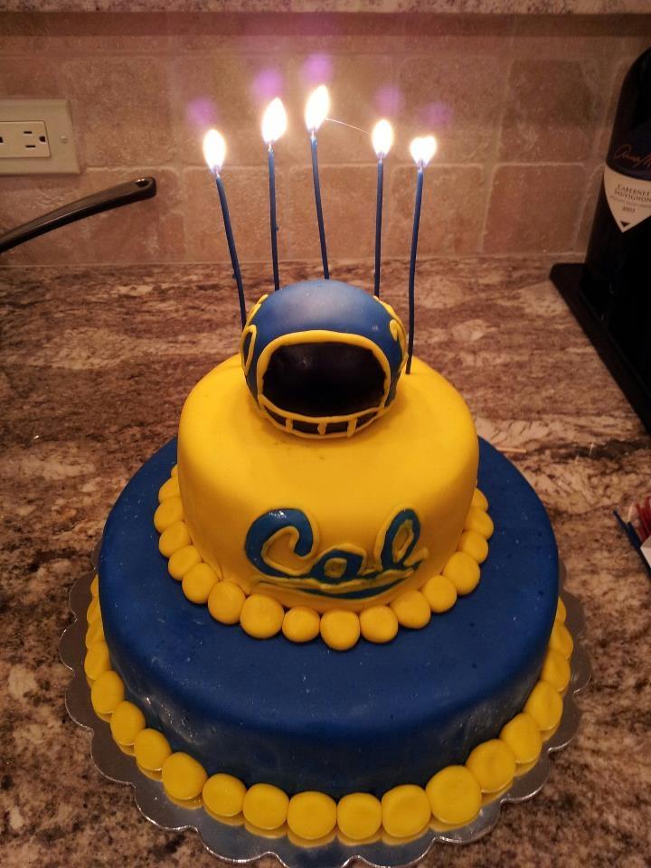 Cal University Of California Berkeley Quot 100 Quot Cake For My