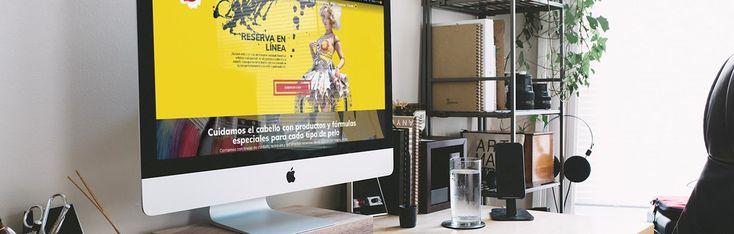 Visita nuestro nuevo trabajo El Taller del Pelo de la categoría Sitios Web, seguro te ayudará a conocer nuestro portafolio para trabajar juntos.    #SitiosWeb #Ideasdediseñoweb