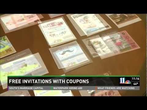 Free baby Shower Invitations – Pure Hoopla Interview with Melissa Minahan, CEO of Pure Hoopla explains how you can get free printed baby shower invitations and birth announcements. Drag and drop coupons on the back to get them for free.