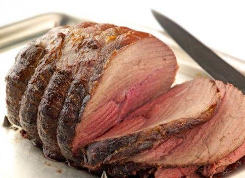 Самые популярные блюда из мяса: ростбиф