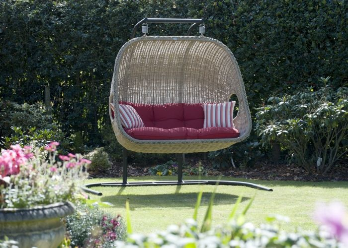 All Weather Outdoor Rattan Furniture   Double Hanging Chair. 23 best images about Outdoor Lounging on Pinterest   San diego