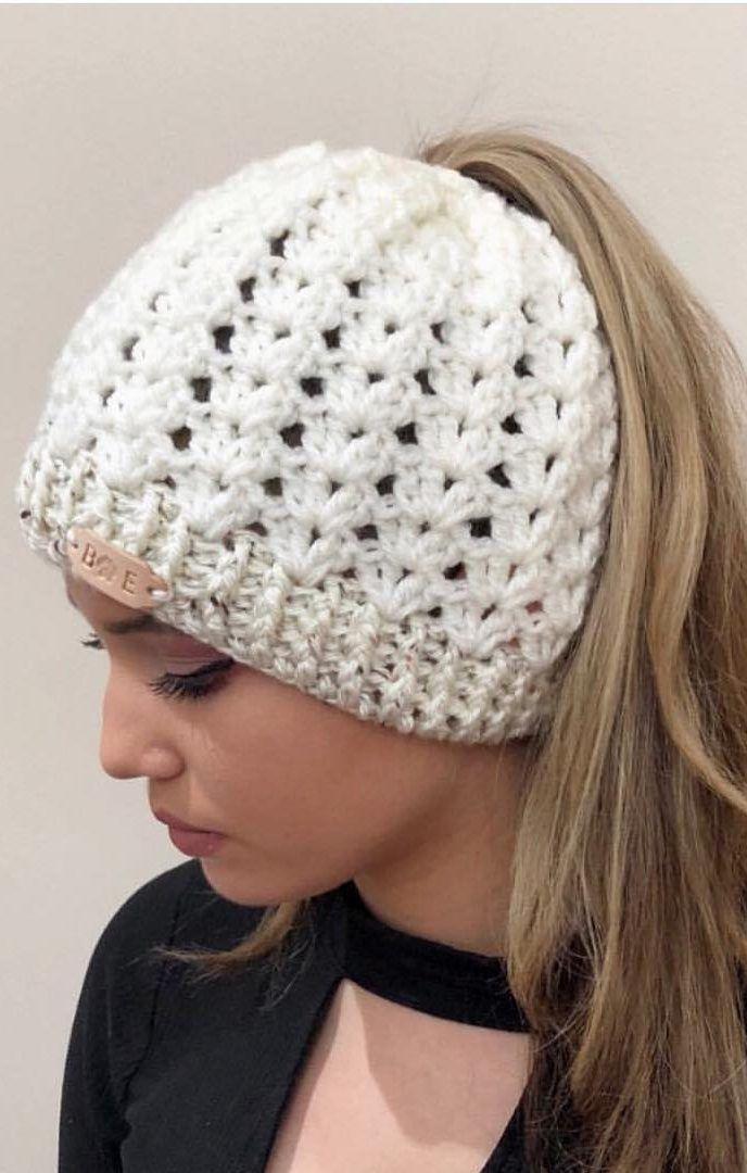 Belleza Patrones de sombrero de ganchillo gratis para principiantes ... 80be7b2ce04