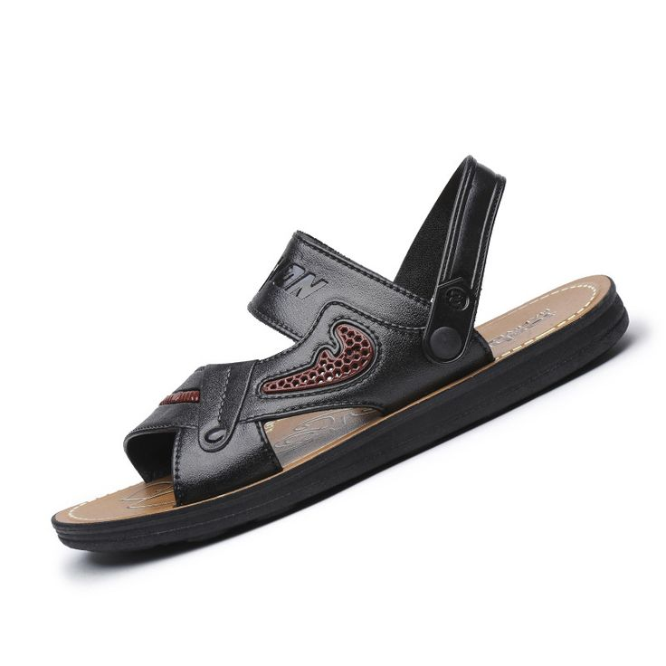 Summer Beach Casual Hommes Sandales évider Slipper Chinelo Masculino Hommes Chaussures Psq9XU