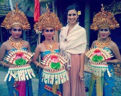 Miss world 2013 in Bali