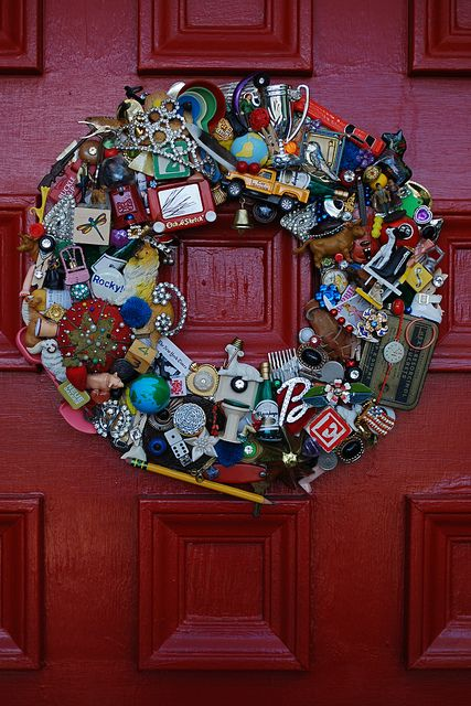 I LOVE THIS WREATH!!