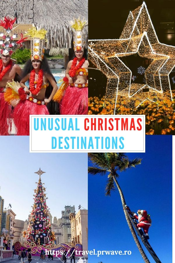 Thinking Of Christmas Trips These Are The Most Unusual Christmas