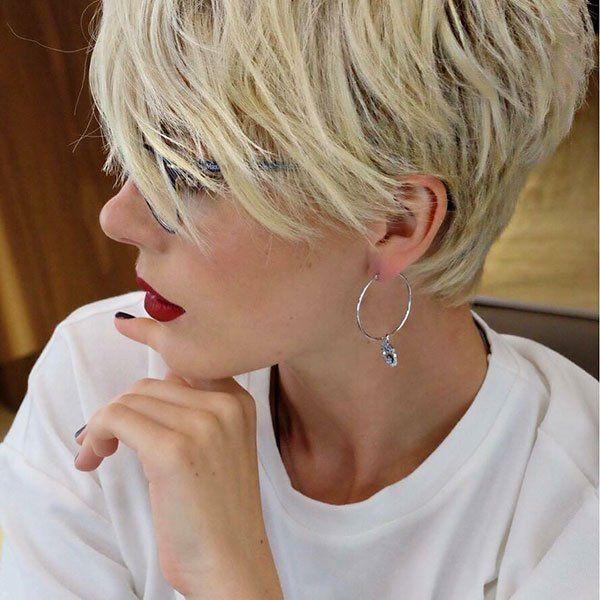 45 Neue Kurze Blonde Frisuren 2019 Frisuren Madame Frisur