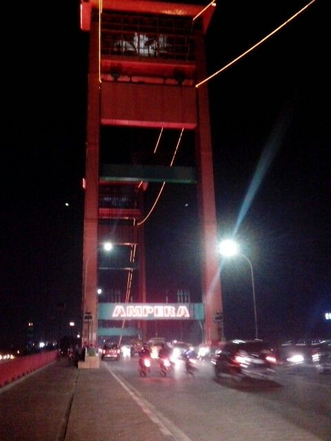 Ampera bridge...