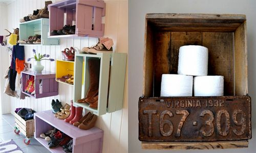 12 creative ideas to recycle wooden boxes for DIY Home Projects  – Wohnkultur