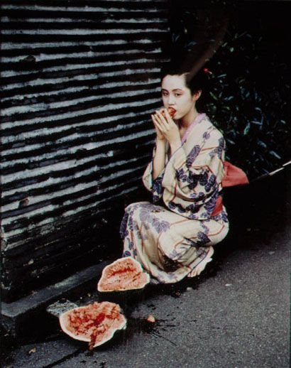 "Nobuyoshi Araki fine art images appear in museums around the world, including MOMA, SFMOMA, The Getty, and the Louvre. His provocative work is considered fine art, and meets the criteria of educational and museum quality images of Pinterest (""We do allow works of art and educational pins, like you might see in a museum or classroom.""). Araki's work is an important part of the history of fine art and is included in curricula taught in classrooms, schools, and featured on educational…"