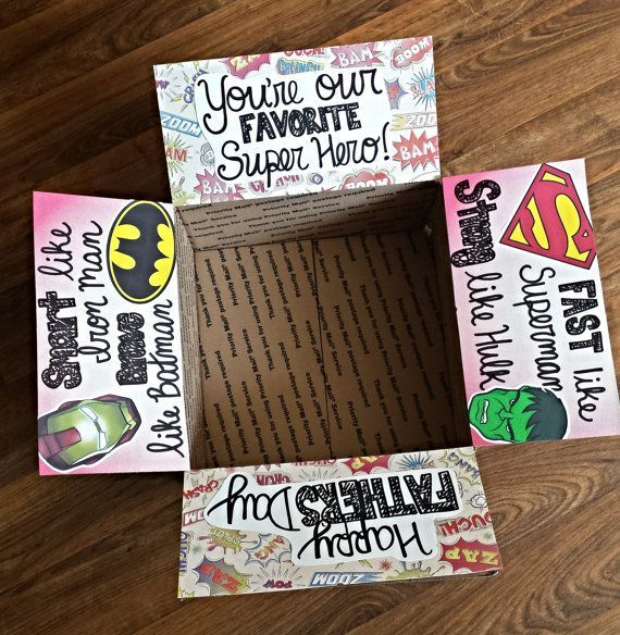 Father's Day care package decorating kit!