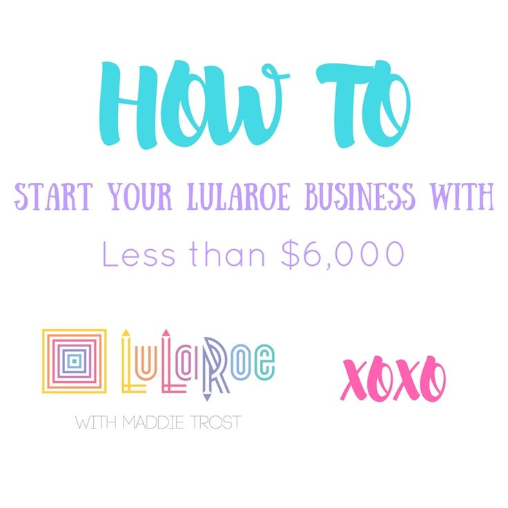 One of the hardest parts about starting yourLuLaRoe business is theapparent financial burden, while I was in the queue I found myself constan