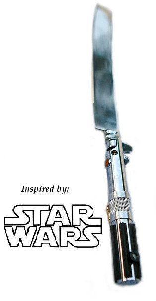 Complementos de la boda #2: Cuchillo de tarta de Star Wars - Woohoo-Weddings