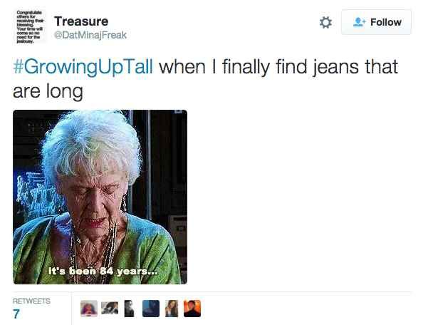 27 Tweets That Will Make Tall People Laugh Out Loud