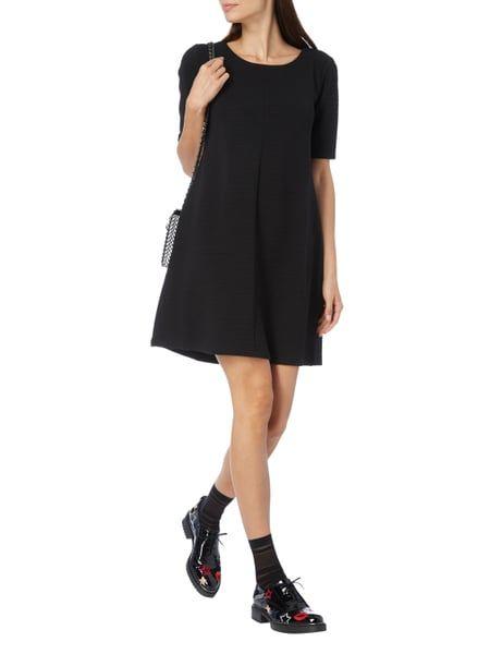 VILA Kleid mit Rippenstruktur in Grau / Schwarz online kaufen (9674554) ▷ P&C AT Online Shop
