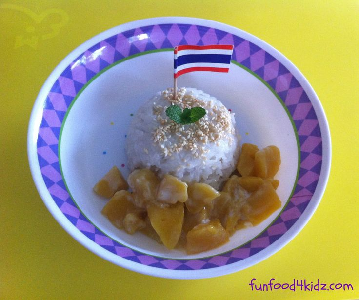 Around the World in 18 Breakfasts, Week 12: Thailand - Coconut sticky rice with mango (Khao niew ma muang)