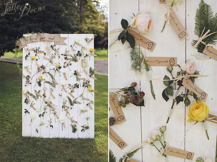 """Romantic rustic garden"" 
