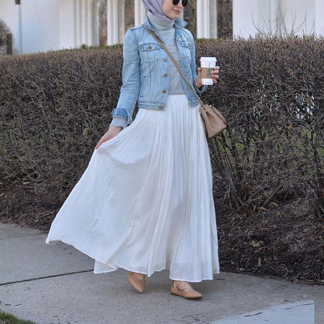 Instagram media by elifd0gan - This skirt is ❤️ tap for details ! #hijabfashion…