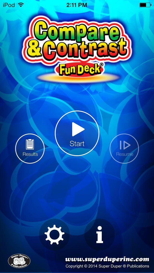 and Contrast Fun Deck on the App Store Дети