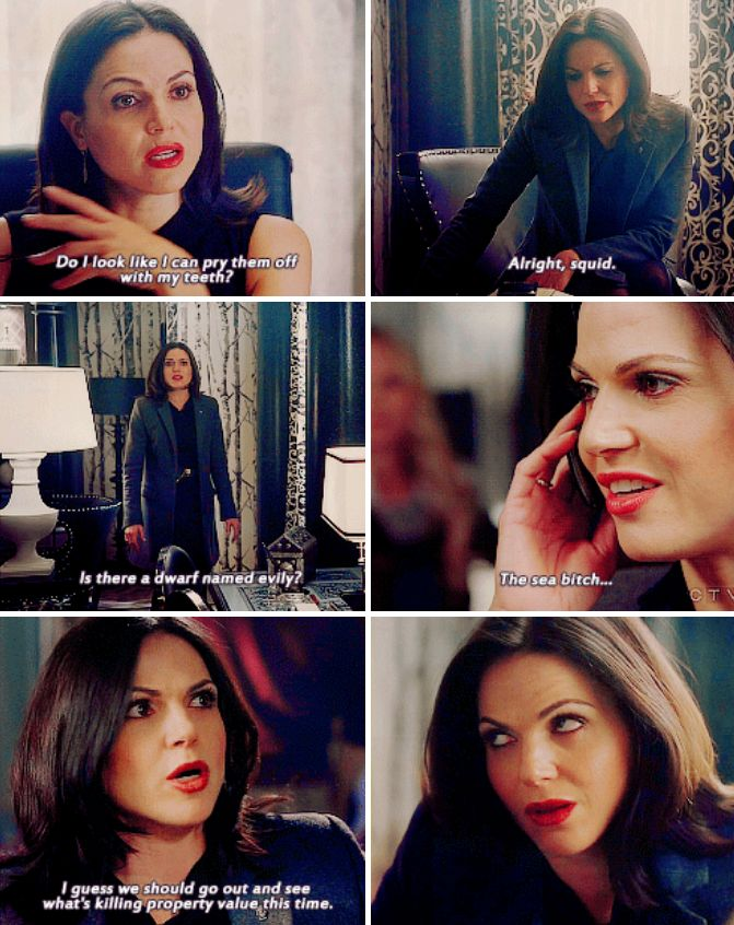 I LOVED the amount of Regina sass in that episode!!! *applause*