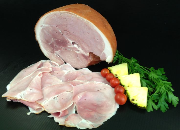 ADAM'S OWN DOUBLE SMOKED DELI LEG HAM - Succulent, traditionally cooked and thinly sliced.  Tastes like Christmas ham but why wait until Christmas?? #adamsfamilymeats #adamsowndoublesmokedham #ham #legham #doublesmokedham
