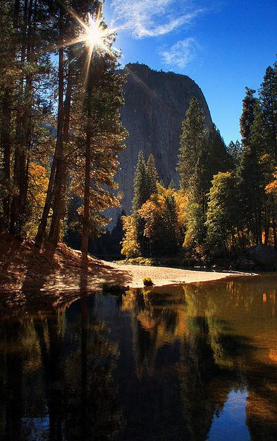 Yosemite National Park in California. One of the most incredibly beautiful and serene places I've ever had the pleasure to visit.