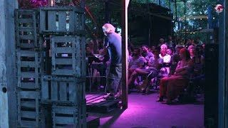 Baum Haus Open Air Comedy. British and american stand up comedy at its best!