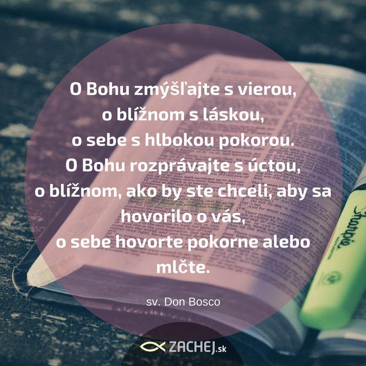 Návod ako budovať kultúru úcty každý deň a za akýchkoľvek podmienok. 🙏🙌 Don Bosco nám ukazuje ako na to. Chcete viac? Prinášame vám novučký, ktásny životopis svätého Dona Bosca. #DonBosco #svaty #saint #citaty #quotes #dnescitam #citamkrestanskeknihy #zachejsk