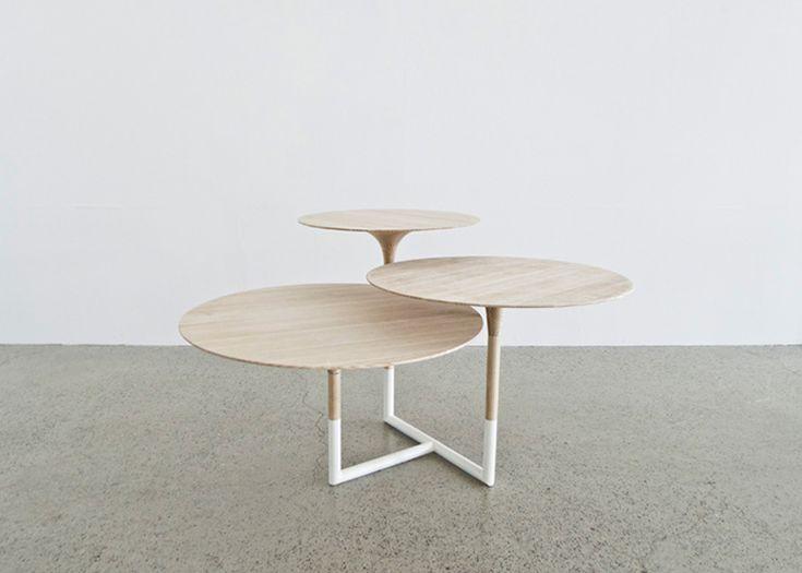 Kantarell Table by Maria Bjorlykke | Yellowtrace.