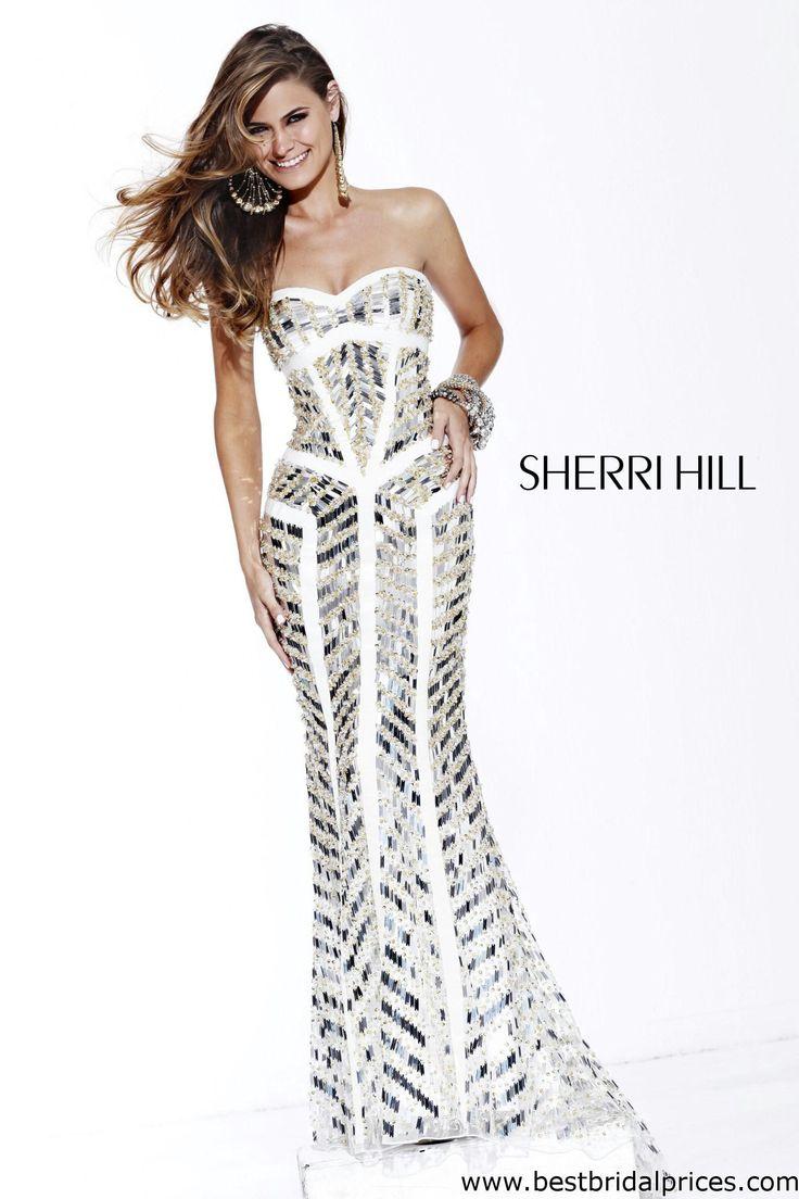 Fantastisch Weiß Sherri Hügel Prom Kleider Bilder - Hochzeit Kleid ...