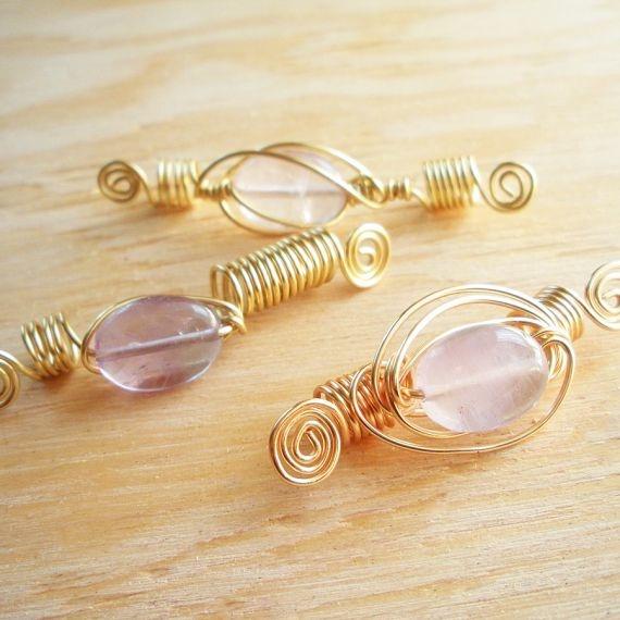 dreadlock jewelry by Afriquelachic