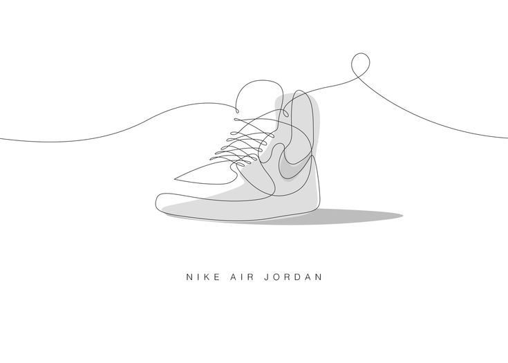 Sneakerart One Line Minimalist Sneakers
