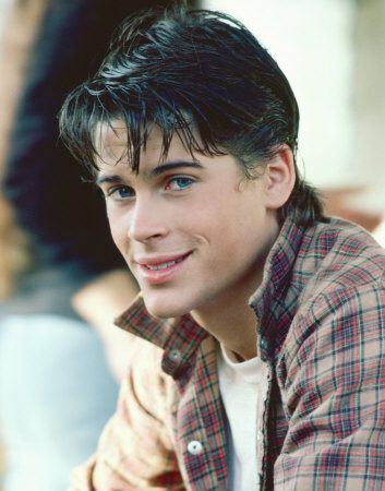 Sodapop Curtis from the Outsiders.  I loved him the book, and I love Rob Lowe (don't judge).