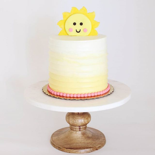 You are my sunshine Cake by Bijoux Cakery