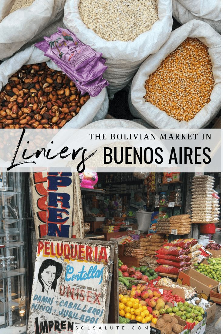 Shopping at The Bolivian Market in Liniers   Central & South