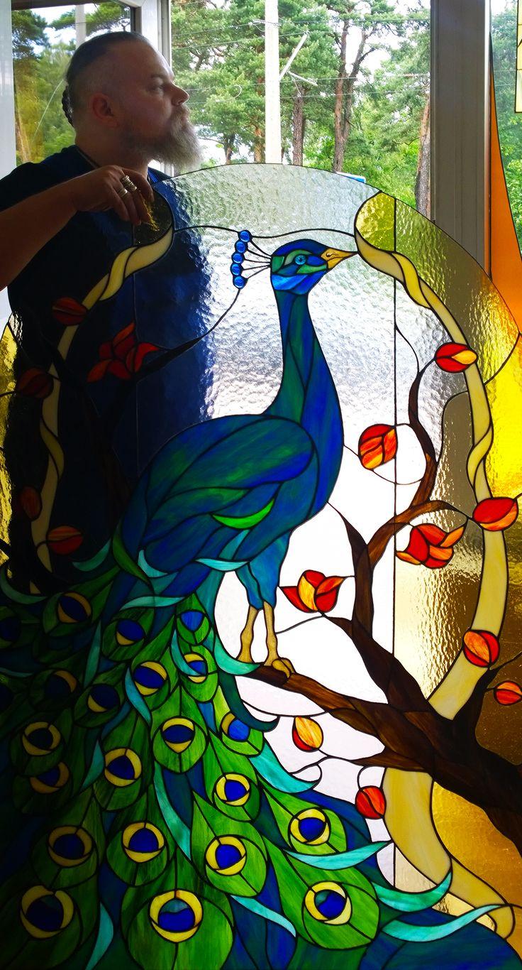 duma..bez uprzedzenia ;) #glassatelier , #tiffany , #paw