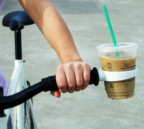 Bicycle Cup Holder. Want!