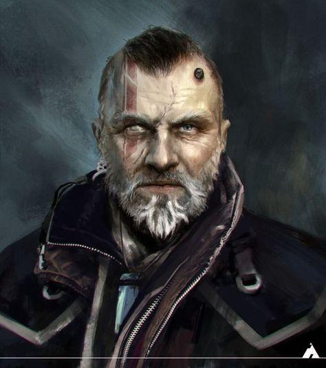 Male PC portrait   Shadowrun, Cyberpunk art, Cyberpunk ...