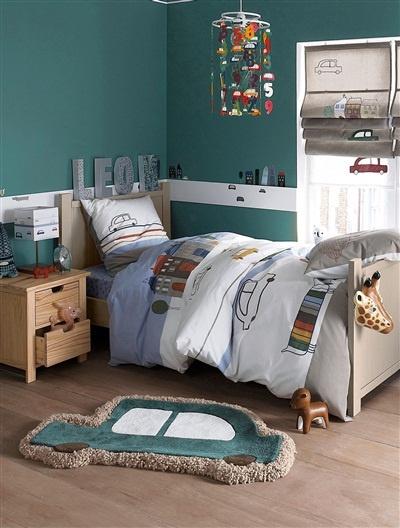 Diese Wandfarbe für's Kinderzimmer der Jungs!