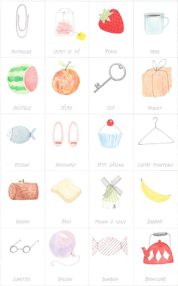 {parlez vous francais} such a cute + educational illustration!