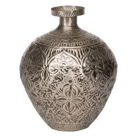 Makindu Vessel in  Pewter Colour