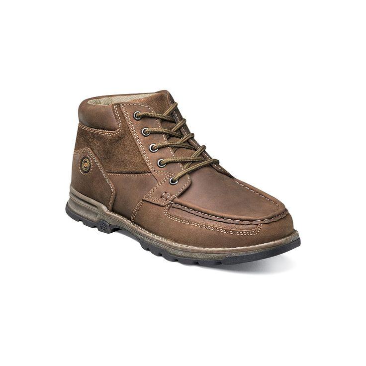Nunn Bush Pershing Men's Moc Toe Casual Boots, Size: medium (10.5), Red/Coppr (Rust/Coppr)