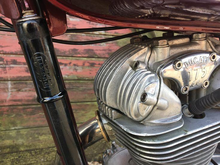 "#Ducati #TS #Turismo #vintage #175 ""oldschool #restore #1961 #love #OEM #Original #pump"