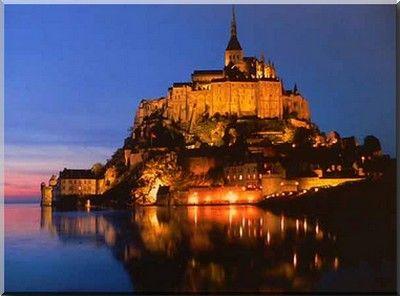 Mont St Michel in Normandië, Frankrijk